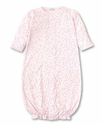 Kissy Kissy Sweethearts Pink Convertible Gown- Preemie