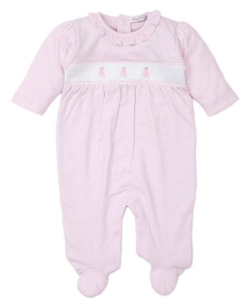Kissy Kissy Classic Treasures Embroidered Ballet Footie 0-3M