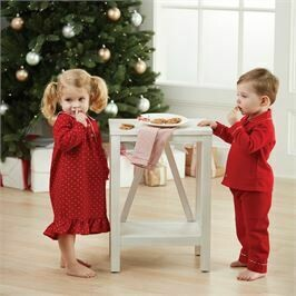 MudPie Flannel 2pc. Toddler Pajamas