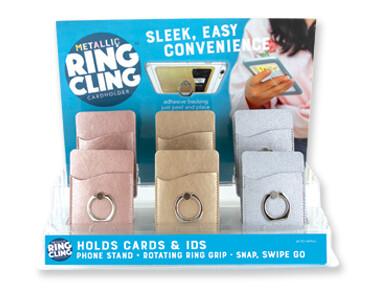 Ring Cling Cardholder