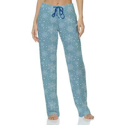 Hello Mello Holiday Pants- Snow Cute