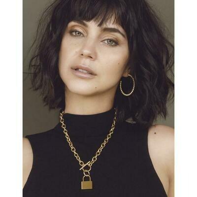 Sahira Stasi Toggle Lock Necklace