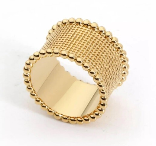 Sahira Hammered Band Ring