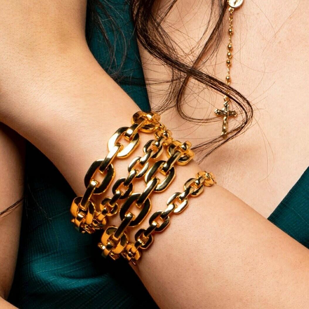Sahira Kaye Link Bracelet Large