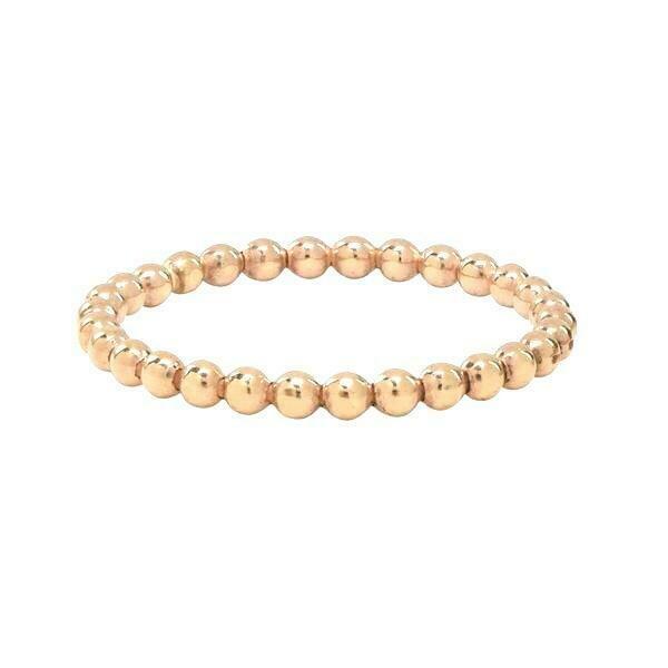 Sahira Beaded Stackable Ring