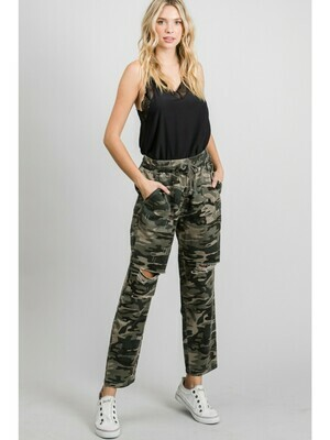 Confident in Camo Pants