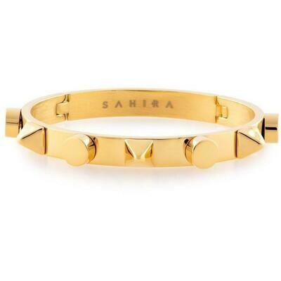 Sahira Pyramid Cuff Bracelet