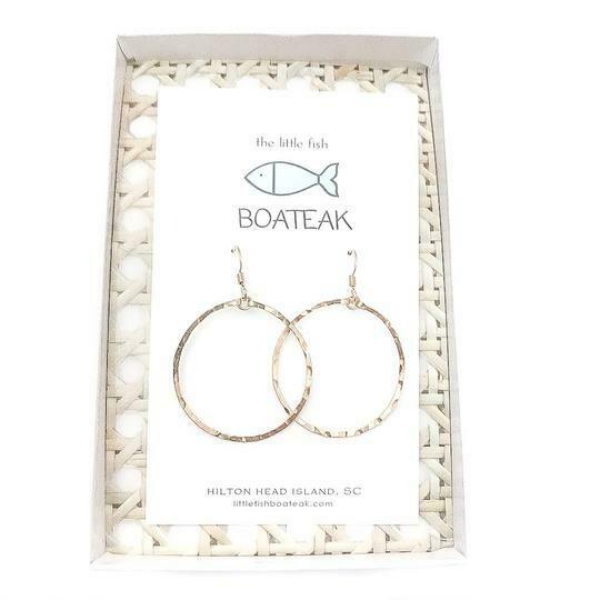 LittleFishBoateak ClassSea Mainsail Earrings