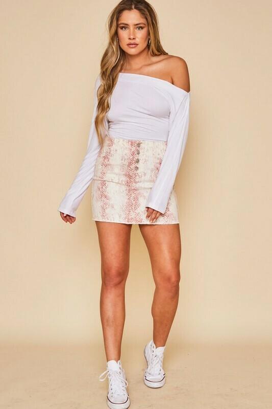 Feeling Smitten Skirt