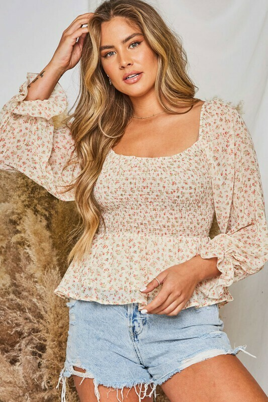 Smocked & Ready Top