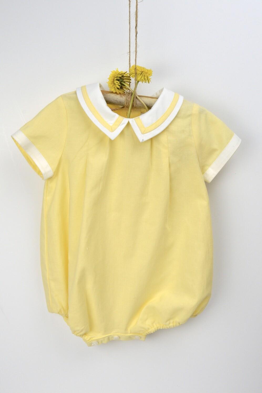 Sophie & Lucas Boy Bubble, Yellow
