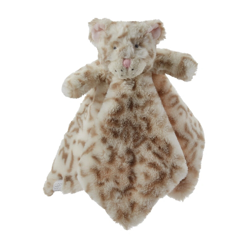 MudPie Leopard Plush Woobie
