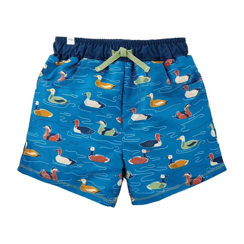 MudPie Mallard Duck Swim Trunks
