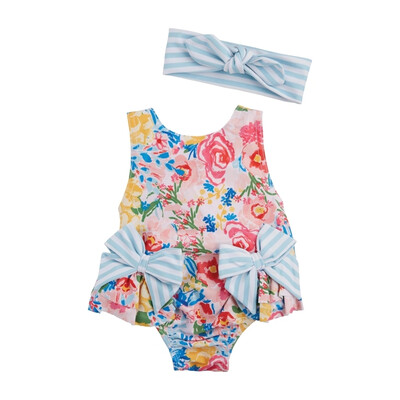 MudPie Floral Swimsuit