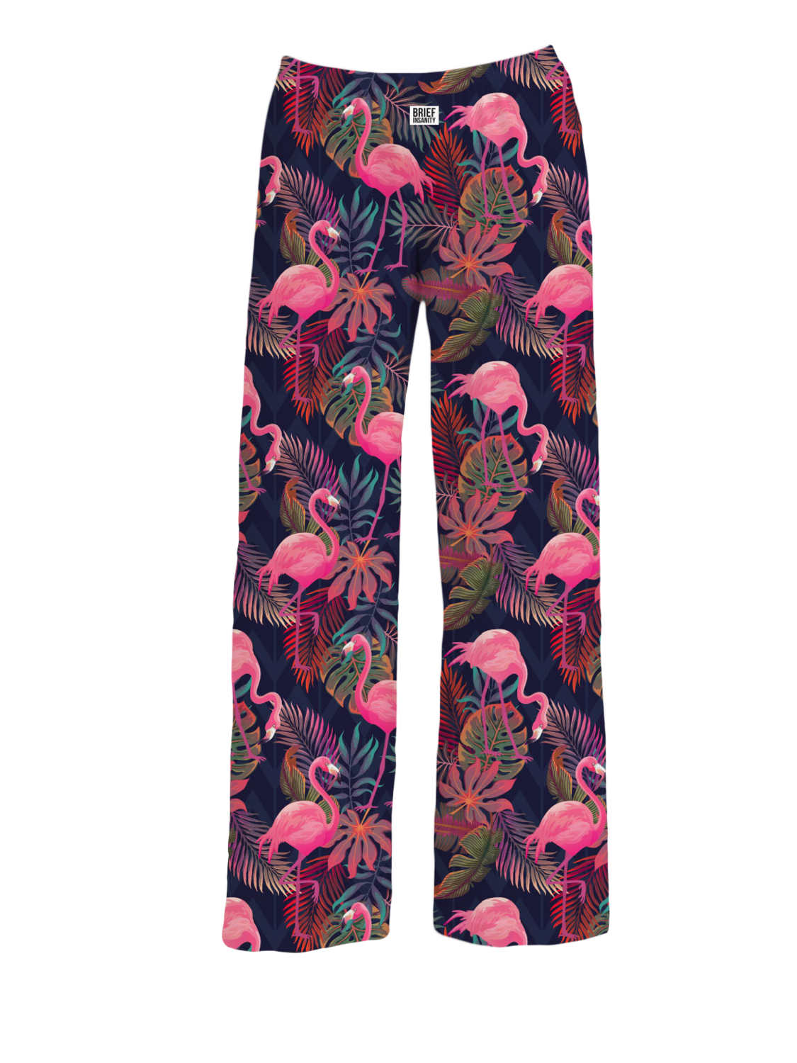 Brief Insanity Pajama Pants- Flamingo