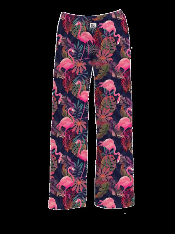 Brief Insanity Pajama Pants- Flamingo