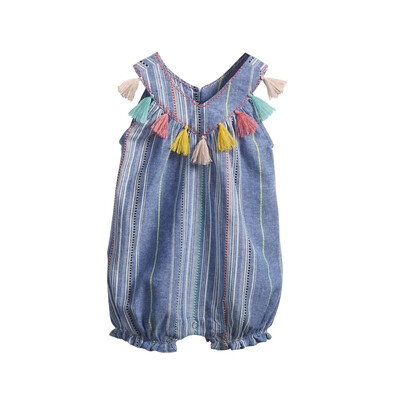 MudPie Chambray Tassel Bubble