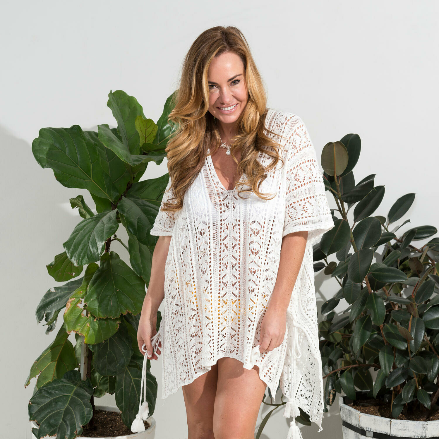 Crochet Cover-Up One Size