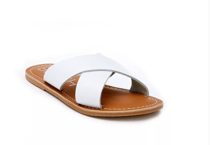 BEACH Lil Pebble Sandal White