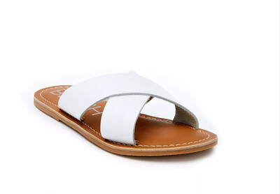 BEACH Lil Pebble Sandal White