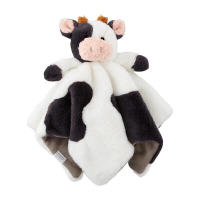 MudPie Cow Plush Woobie