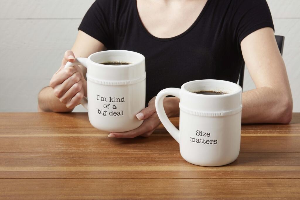 MudPie Oversized Mugs