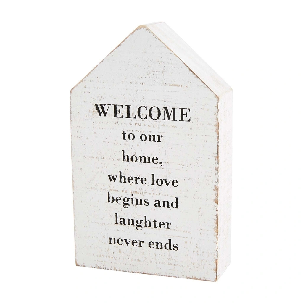 MudPie Family House Plaques