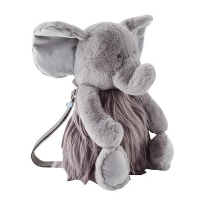 MudPie Elephant Plush Backpack