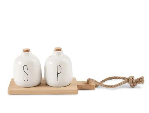 MudPie Salt & Pepper Paddle Board Set