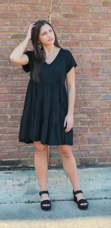 It's All Good Dress Black