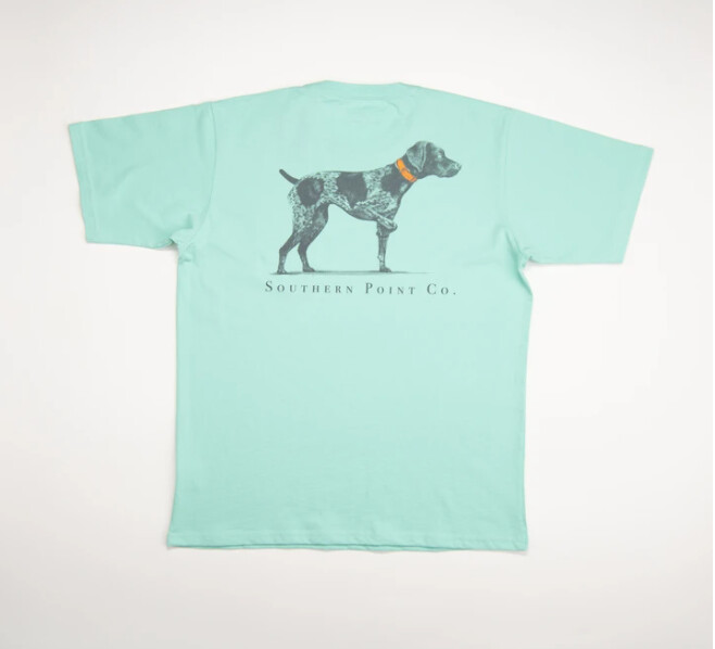 Southern Point Co. Tee- Mint Classic Dog