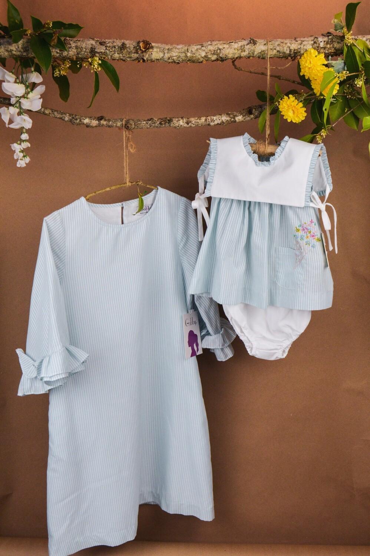 Gabby Lolly Shift Dress, Blue