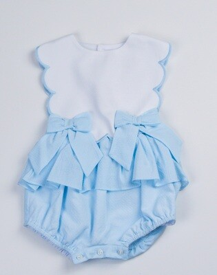 Sophie & Lucas Scallop Girl Overall