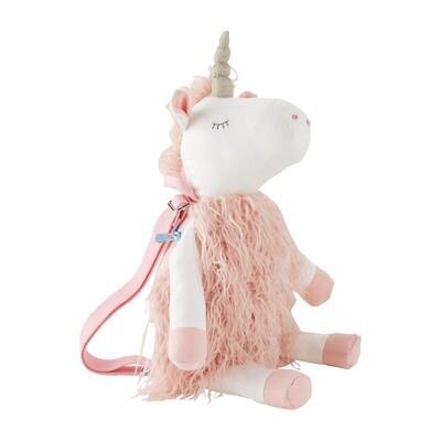 MudPie Unicorn Plush Backpack