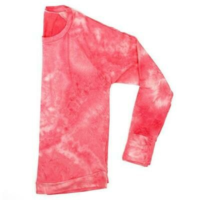 Hello Mello Dyes the Limit Lounge Top, Coral