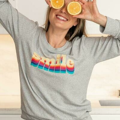 Hello Mello Best Day Ever Lounge Top, Smile