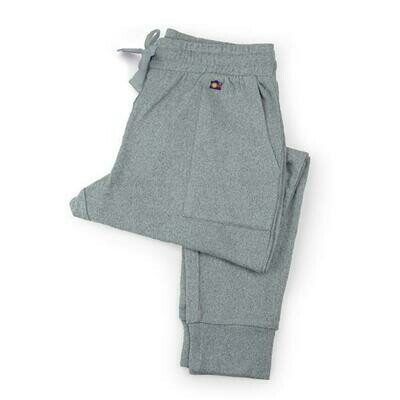 Hello Mello Best Day Ever Lounge Pants, Gray