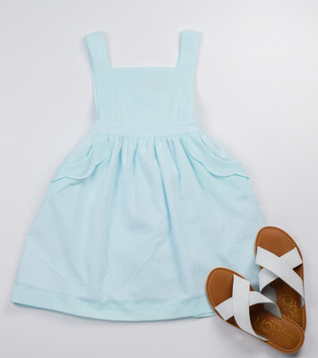 Sophie & Lucas Scallop Sundress