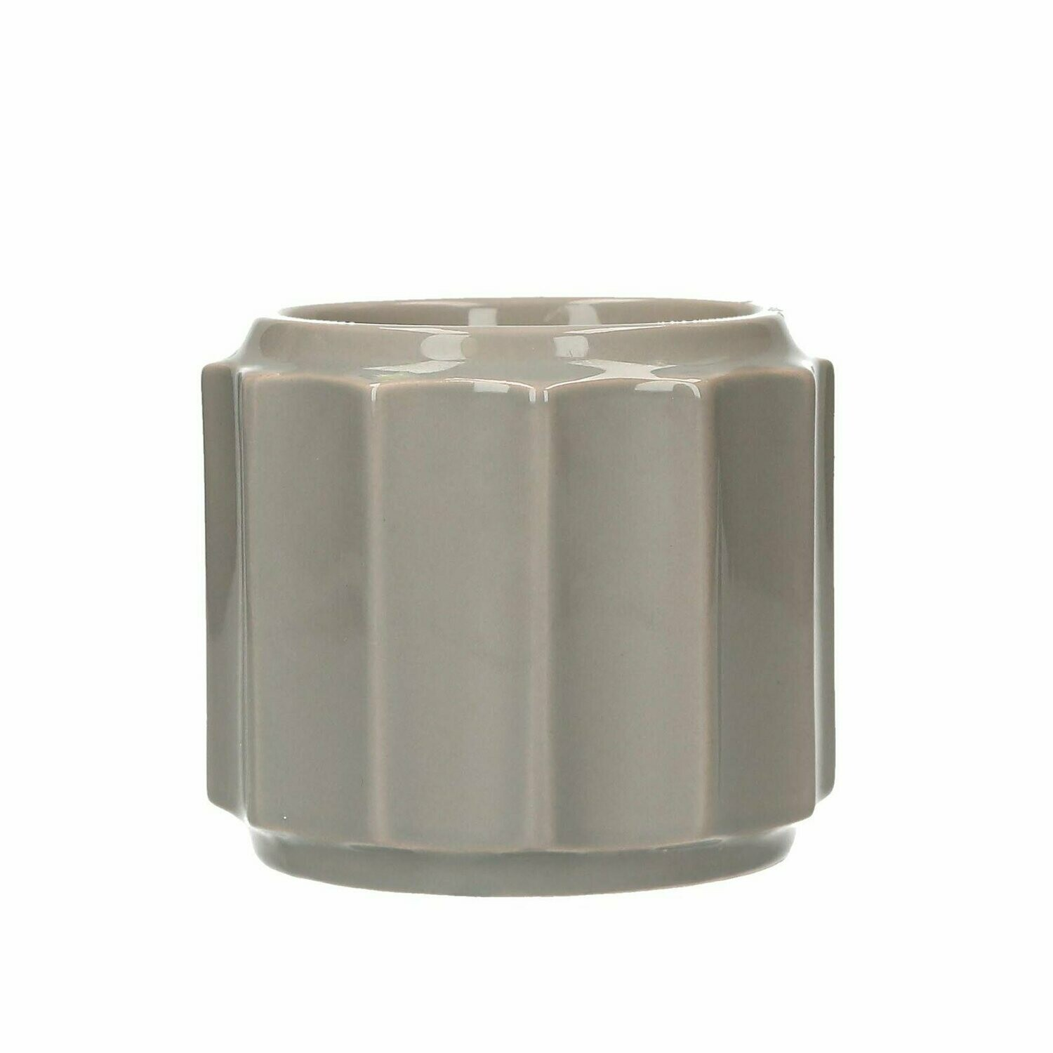 Electric Candle Warmer- Banded Grey