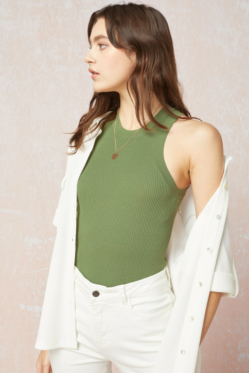 The Best Me Top Olive