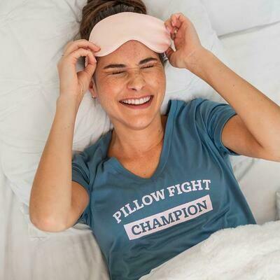 Hello Mello Let Me Sleep Shirt, PillowcaseChampion