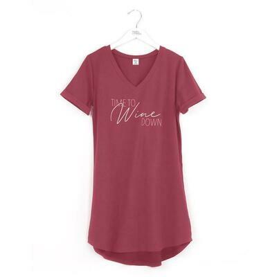 Hello Mello Let Me Sleep Shirt, Time to Wine Down