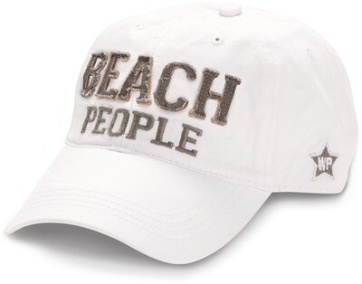 Beach People Hat- White