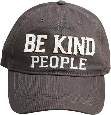 Be Kind People Hat- Dark Gray