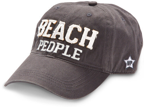 Beach People Hat- Dark Gray