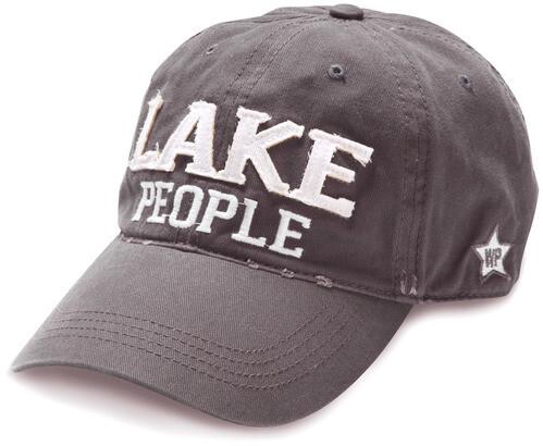 Lake People Hat- Dark Gray