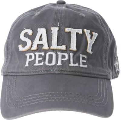Salty People Hat- Dark Gray
