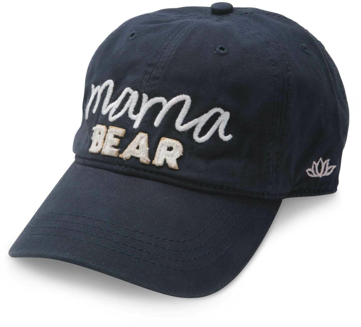 Mama Bear Hat- Navy