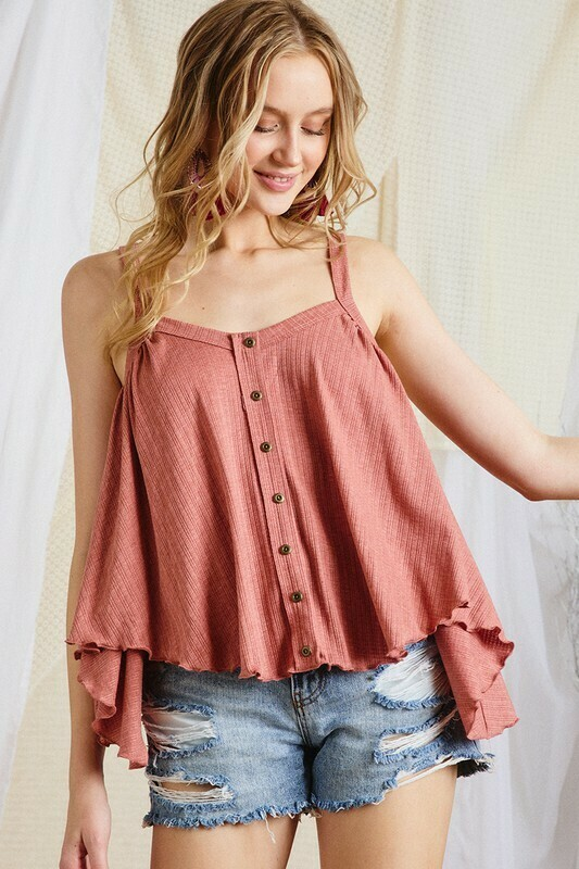Hint of Summer Top