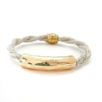 Little Fish Boateak Weekender Glam Bracelet